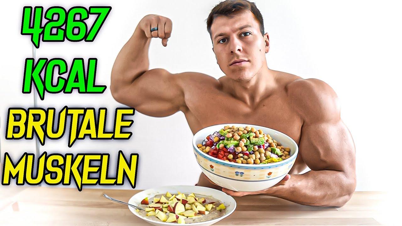 Ernährung für maximale Muskelmasse - VEGGIE! 🥙