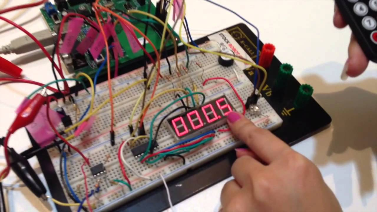 Mini-Project Embedded System Design Lab 2013 - YouTube