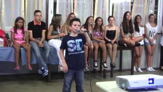 Karaoke: Fabrizio de Sibi canta TAPPETO DI FRAGOLE dei Modà
