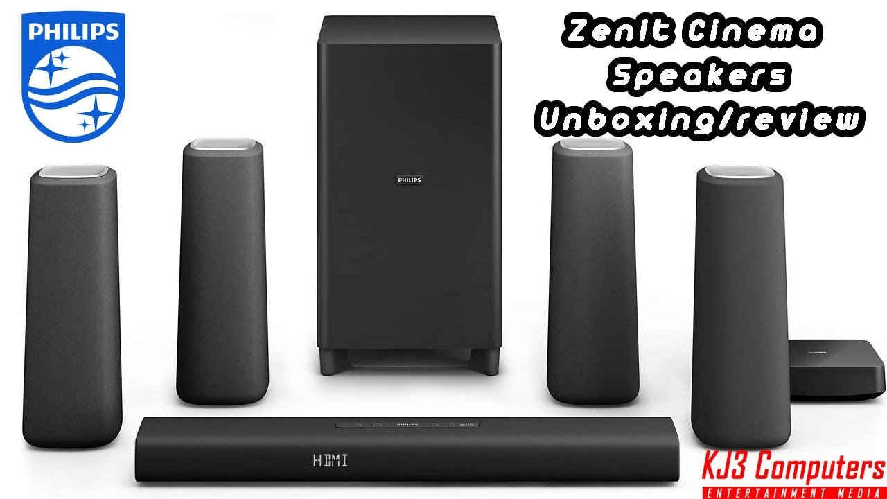 Phillips Zenit Bluetooth 5 1 Cinema Speakers Soundbar Unboxing Review And Setup Css5530b 37
