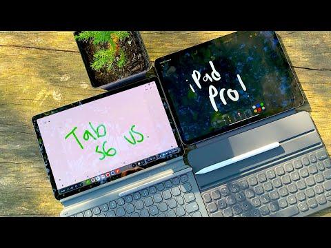 Samsung Galaxy Tab S6 vs iPad Pro 11