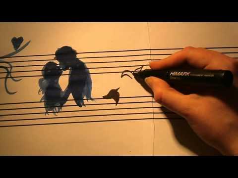 MUSIC PAINTING - Songbird
