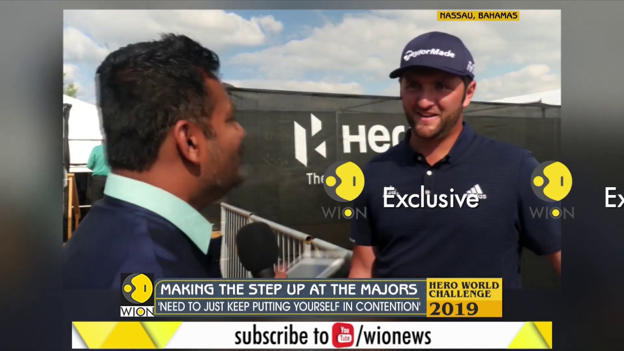 Exclusive: Race to Dubai Champion Jon Rahm on WION