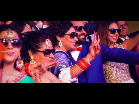 Best Cinematic Wedding Highlight 2017 | Manny & Amrita | Sushil Dhiman Photography | India