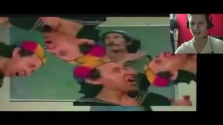 Repeat youtube video A Reação de um Gringo assistindo Seu Madruga will go on.