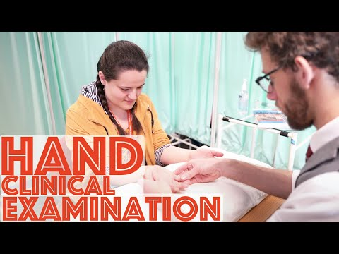 Hand​ Examination Clinical Skills OSCE - Medical School Revision - Dr Gill