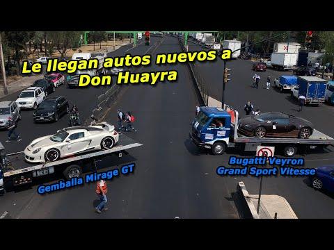 😱 Más autos para Don Huayra   Bugatti Veyron Grand Sport Vitesse & Gemballa GT en México 🇲🇽