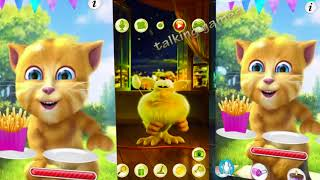 Talking Tom and Friends Cat Ginger Colors Pato Baby Booba