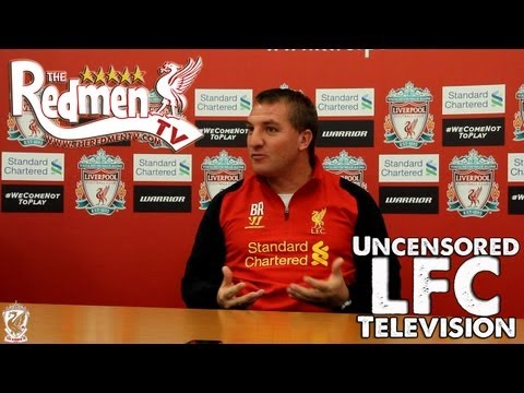 Brendan Rodgers Interview PART 1 (Redmen TV Exclusive)