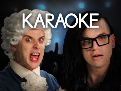 [KARAOKE ♫] Mozart vs Skrillex. Epic Rap Battles of History. [INSTRUMENTAL]