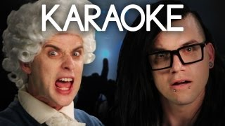 [KARAOKE ♫] Mozart vs Skrillex. Epic Rap Battles of History. [INSTRUMENTAL]