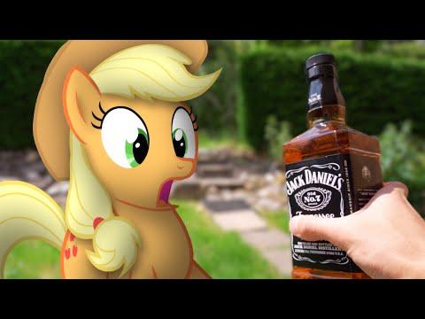 Man versus Ponies (MLP in real life)