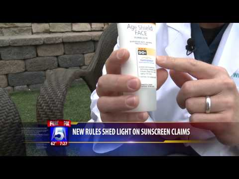 New FDA Sunscreen Rules Explained   Dr. William Groff