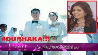 DURHAKA! TAK DiRESTUI Ibu, ASTY Ananta & HENDRA Menikah Diam Diam ~ Gosip Terbaru 4 Oktober 2016