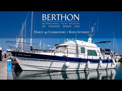 [OFF MARKET] Hardy Commodore 42 (KEEN INTEREST) - Yacht For Sale - Berthon International