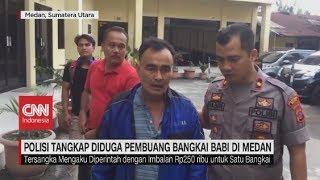 Polisi Tangkap Pembuang Bangkai Babi di Medan