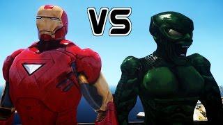 IRON MAN VS GREEN GOBLIN - EPIC BATTLE