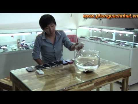 Khả năng chống nước kinh ngạc của Điện Thoại Nhật - www.phongcachnhat.vn