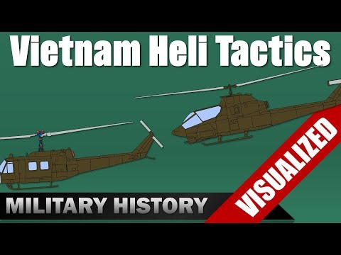 [Vietnam] Helicopter Tactics for Recon Team Operations (Documentary)