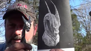 Blacksmithing - Forging A Dragon Head Railroad Spike Knife - Highlight Video