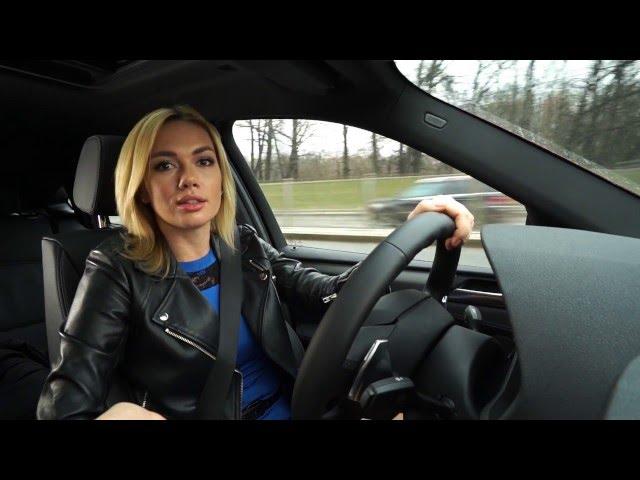 Разгон с Анастасией Трегубовой: тест-драйв BMW X4 xDrive 35i