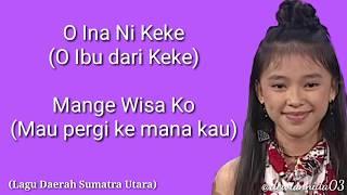 O INA NI KEKE - ANNETH (IDOL JUNIOR) - LAGU DAERAH (SULAWESI UTARA)