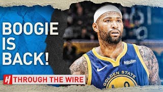 Does DeMarcus Cousins Make The Warriors Unstoppable | Through The Wire Podcast