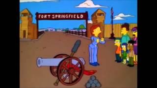 The Simpsons - Civil war cannon