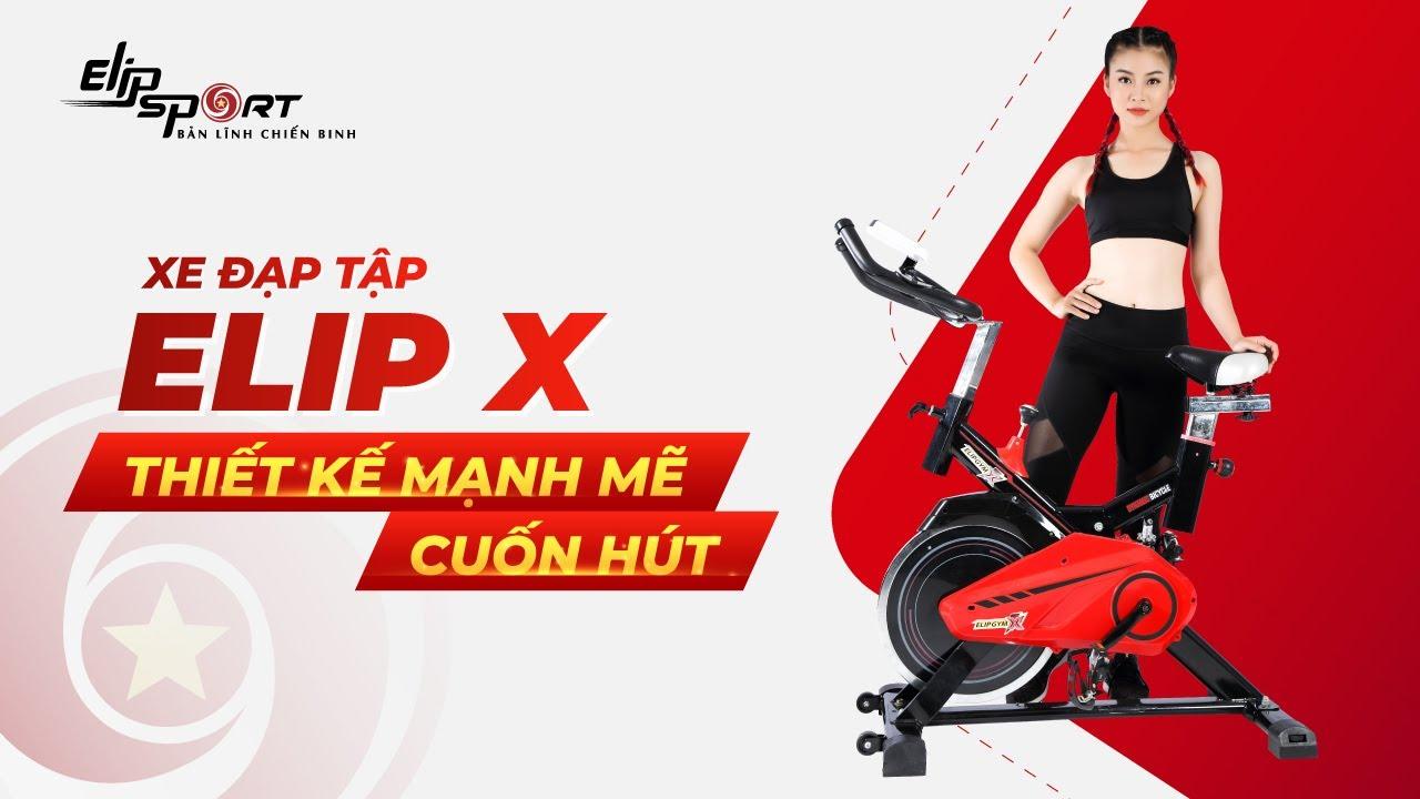 Review xe đạp tập Elip X