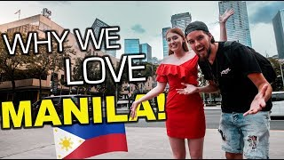 First Time In Bonifacio Global City Philippines, We LOVE Manila!