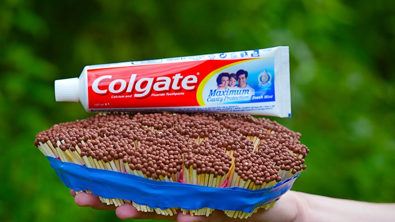 7 CRAZY EXPERIMENTS With Toothpaste