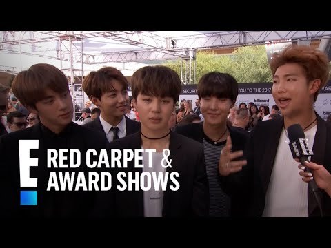 Korean-Pop Boy Band BTS Hit the 2017 Billboard Music Awards | E! Red Carpet & Award Shows