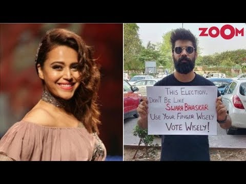 """""""Use your finger wisely"""" Trolls attack Swara Bhasker on polling day Mp3"""
