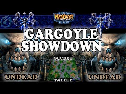 Grubby | Warcraft 3 The Frozen Throne | 1.26 | UD v UD - Gargoyle Showdown - Secret Valley