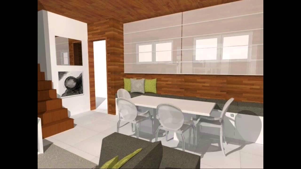 Dicas para decorar a sala em casa de madeira youtube for Como decorar interiores de casas pequenas