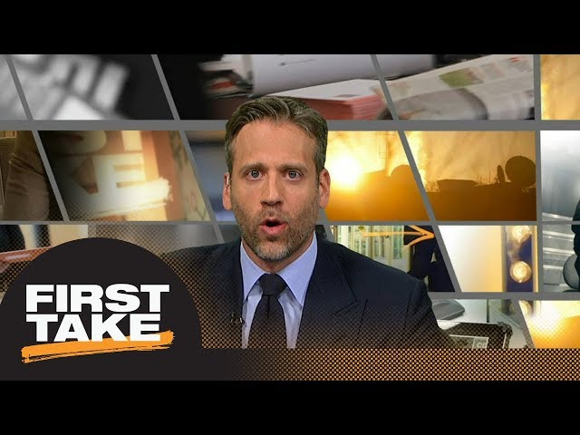 Max: Timberwolves could upset Warriors in first round of NBA playoffs | First Take | ESPN