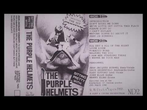 The Purple Helmets - Sitting Pretty With - London Polytechnic of Central London 15 March 1988