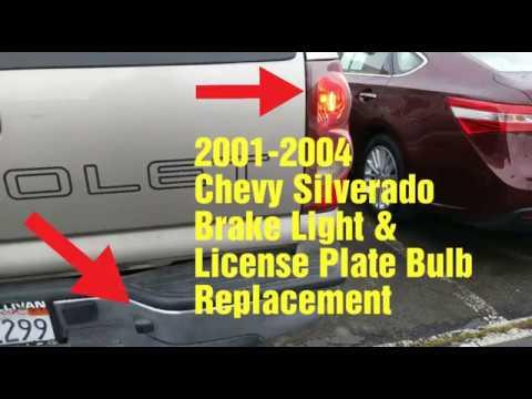 ke Light / License Plate Bulb Chevy Silverado on