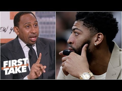 Have the Pelicans decreased NBA's interest in Anthony Davis trades? | First Take