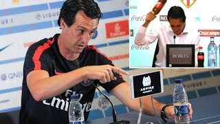 Unai Emery Funniest Moments//press conference (sous-titrée)