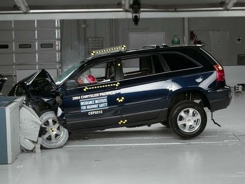 2004 Chrysler Pacifica Moderate Overlap Iihs Crash Test