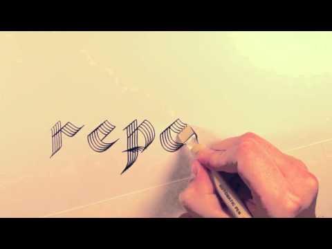 Repeat - Music Calligraphy