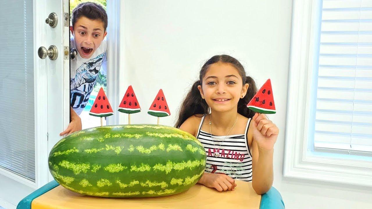 Download Heidi y Zidane en una historia sobre caramelos de frutas.Dulce desafío para niños