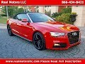 2017 Audi A5 2.0t Sport Cabrio W 32k Miles In Clearwater Fl Tampa Bay Area