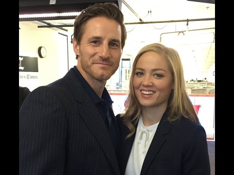 'Parenthood's' Erika Christensen and Sam Jaeger  Talking TV