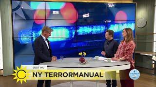 Ny terrormanual - så ska vi agera vid en terrorattack - Nyhetsmorgon (TV4)