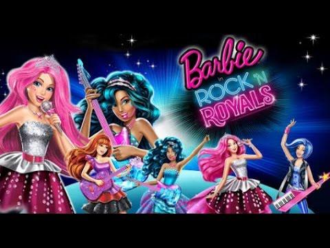 Barbie - Rock'n Royals (Filme completo)