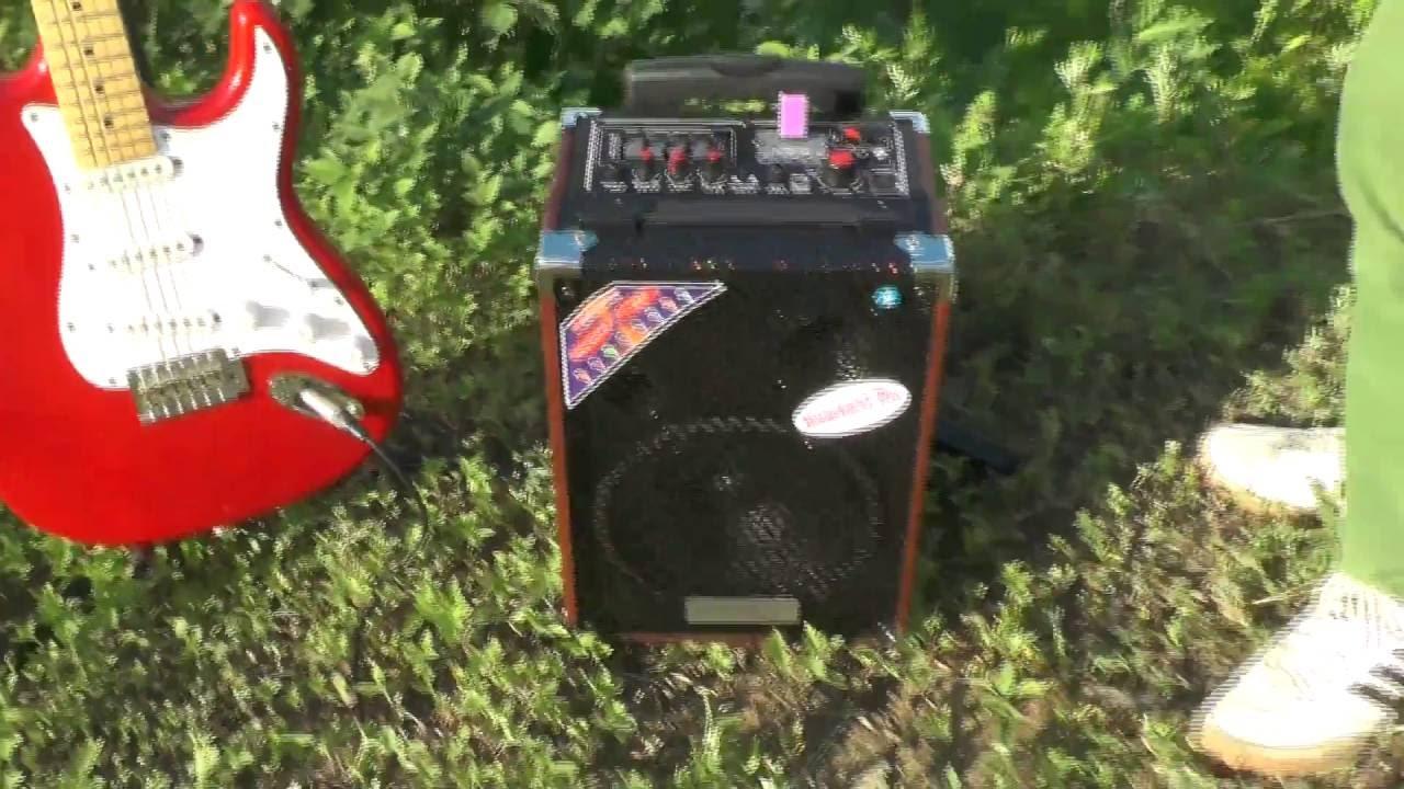 комбик для акустической гитары KUSTOM SIENNA16 - YouTube