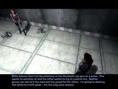 Let's Play Deus Ex Invisible War Part 31 JC Denton