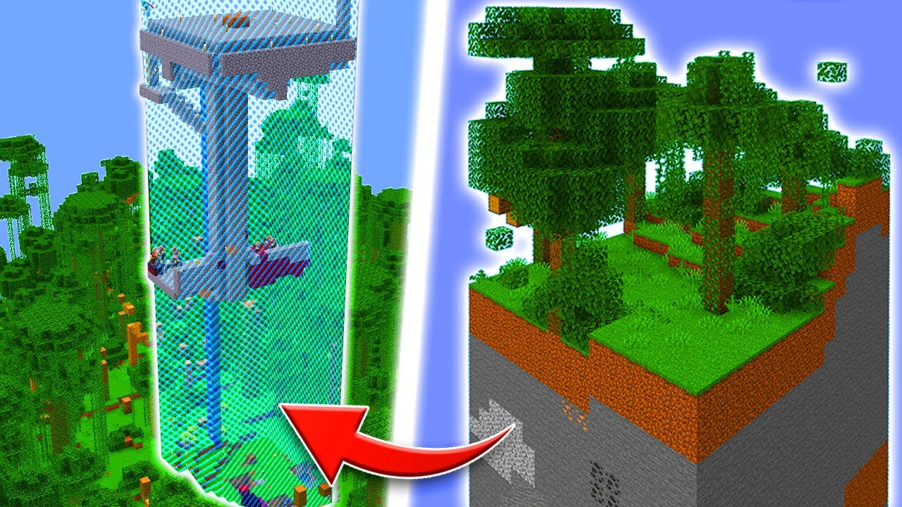 I Built LOTS of OP Farms In A One Chunk Minecraft World! (Ep. 8) #shorts